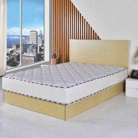 10 Inch Memory Foam Mattress Pad Sleepover Living Room Bed Topper Full Size Twin Size Queen Size Bed In Living Room Queen Memory Foam Mattress Mattress Pad