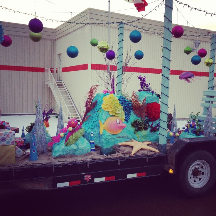 under the sea parade float - Google Search