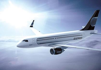 Bombardier C Series Jet