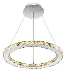 Patriot Lighting Elegant Home Noah Dimmable LED Circle Pendant Mom And Dad