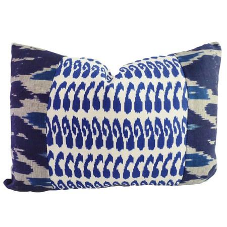 I pinned this Kim Salmela Raji Pillow I from the La Vie Boheme event at Joss and Main!- indigo