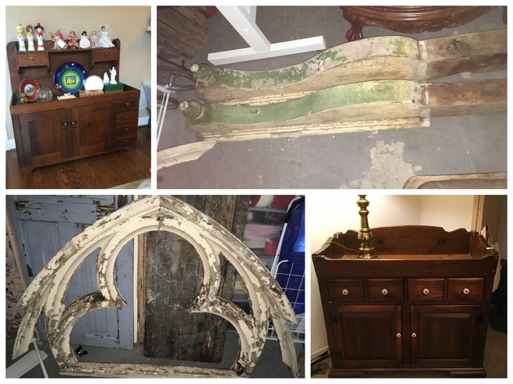 Repurposing is not only right, it makes new design soooo much more interesting! Two antique dry sinks will be converted to new bathroom vanities. Antique corbels from Belgium will be become the top of a built in banco, and that amazing arch-enclosed quatrefoil piece from a New Orleans home will become my new headboard! #myturn Stay tuned for more of this home addition in the mountains of Taos, NM.