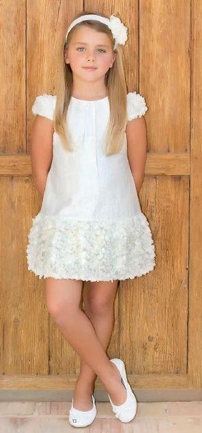 Mejores 67 im genes de vestidos damitas en pinterest - Monalisa moda infantil ...
