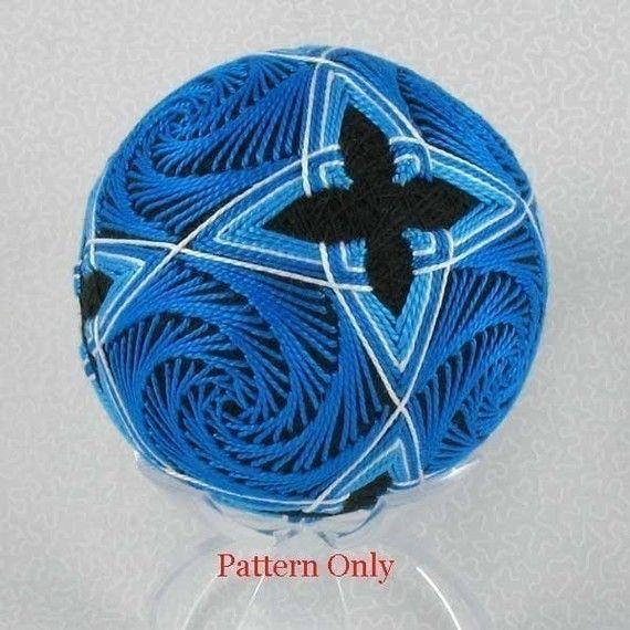 Beautiful pattern for Temari