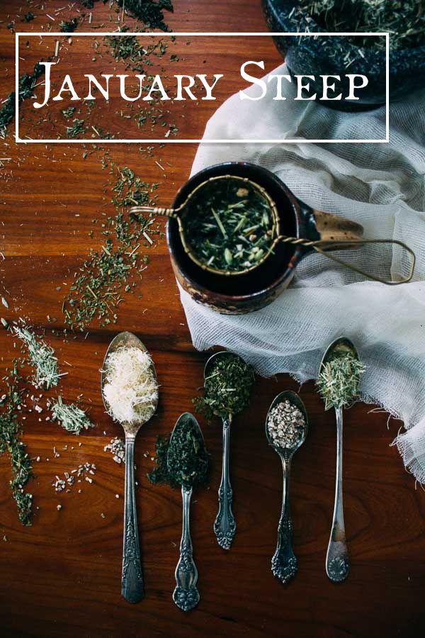 January Steep | Nettle, Oat Straw, Astragalus, Skullcap & Dandelion Root