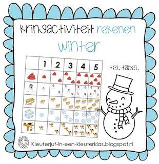 Rekenen - Tel-tabel | Thema WINTER
