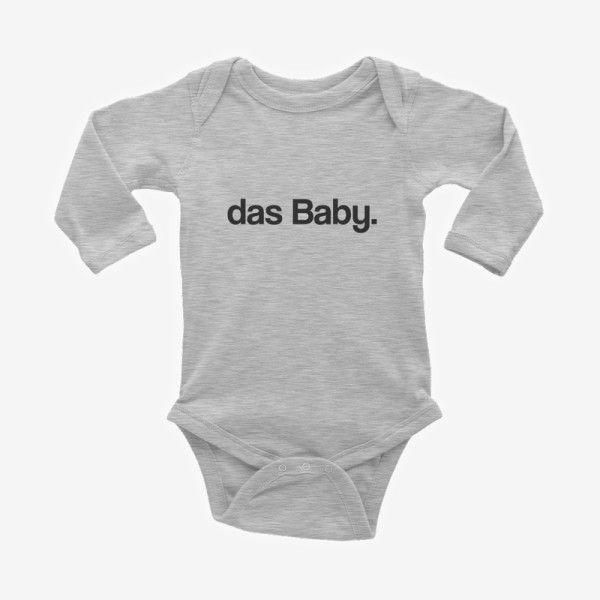 Das Baby German Baby Bodysuit
