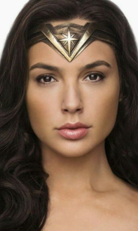 Gal Gadot as Wonder Woman.