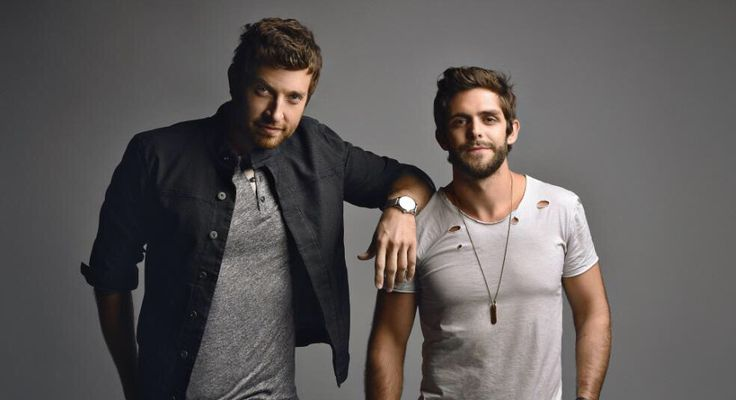 Brett Eldredge ❤️ and Thomas Rhett ❤️ talk about height difference