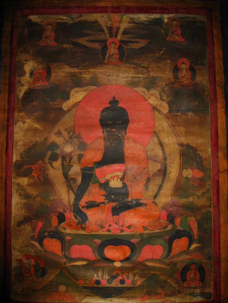 Antique Tibetan painting