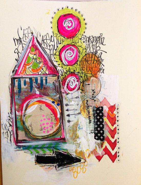 """""""Every Life Has a Story!"""" - {Roben-Marie Smith} - Art Journal Collaboration..."""