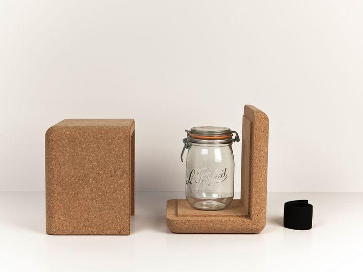 YAOURTIERE EN LIEGE (SANS ELECTRICITE) / CORK YOGHURT-MAKER (WITHOUT ELECTRICITY) /  Design Nicolas LANNO