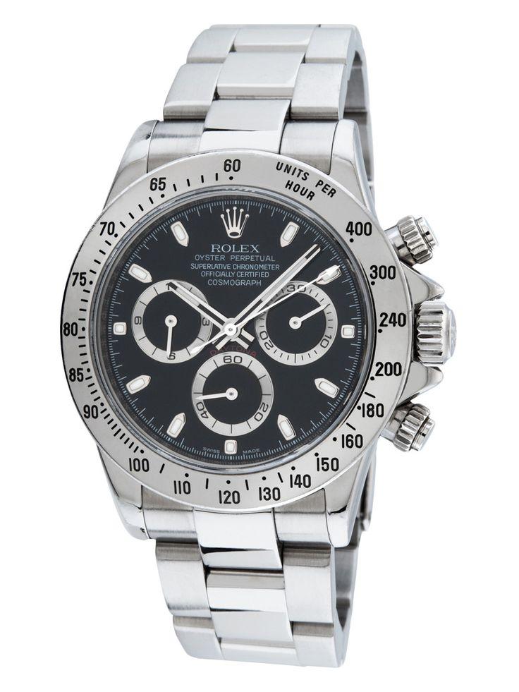Shop Rolex Vintage Stainless Steel #rolex Daytona Watch, 40mm