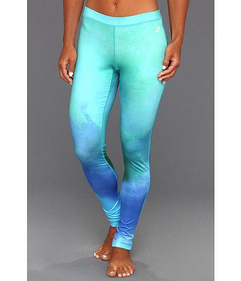 Nike Sunset Legging Sport Turquoise - Zappos.com Free Shipping BOTH Ways- CrossFit clothing