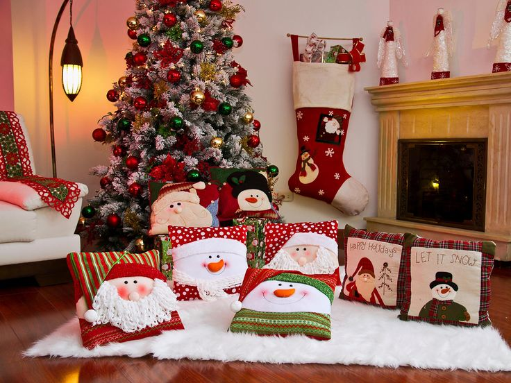 Love the Huge stocking on the wall.