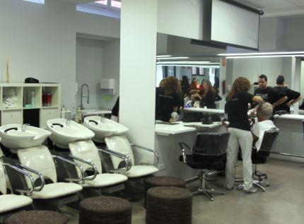 Salón de peluquería.