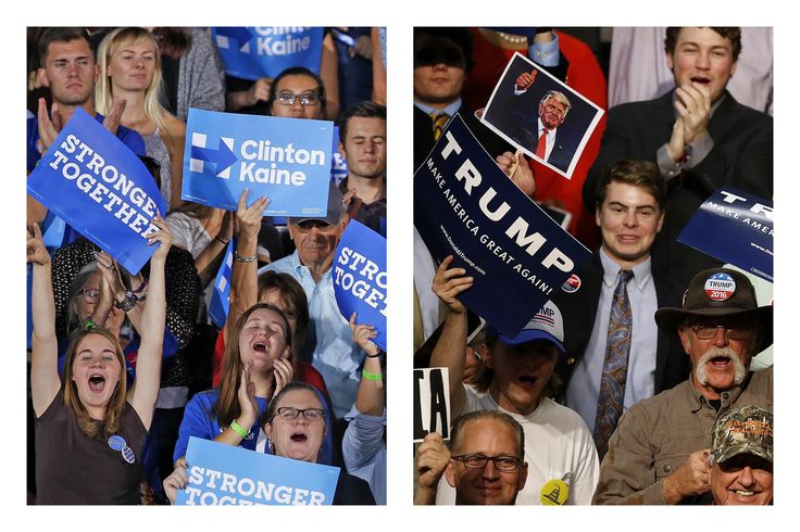 New national polls released Sunday showed Hillary Clinton leading Donald Trump as the race tightened two days before Election Day.