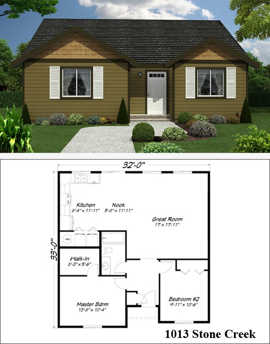 59 best images about guest house or in law quarters on for Stone creek house plan