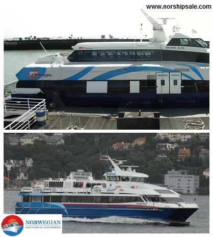 Norship sale offers high speed #ferries & #fastferries for sale at good prices and experience quality shipping experience!  Click here to know more