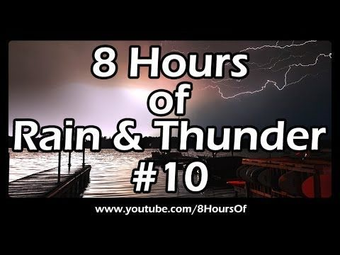 8 Hours of long relaxing rain and thunder sounds for sleep, meditation, yoga and relaxation.  If you listen to this long rain and thunder sound video during sleep or meditation you will feel peaceful and calm. Great for tinnitus, meditation, yoga, when you study, go to sleep, have insomnia or have sleep deprivation.  Please like, subscribe and comment if you enjoyed this video. It will really help me out a lot. :)  http://www.youtube.com/subscription_center?add_user=8hoursof