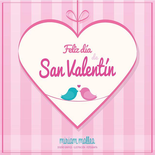 Feliz día de San Valentín / Happy Valentine's day <3