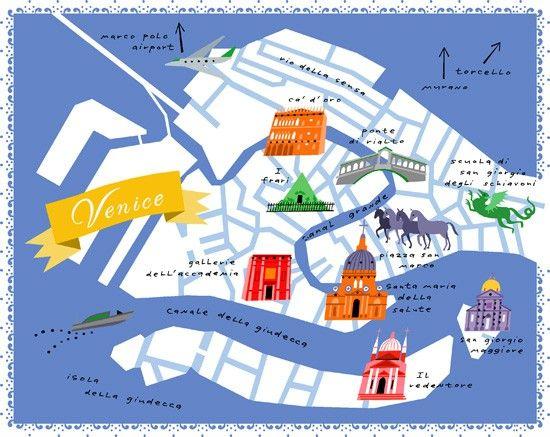 The Best Venice Map Ideas On Pinterest - Venice city map