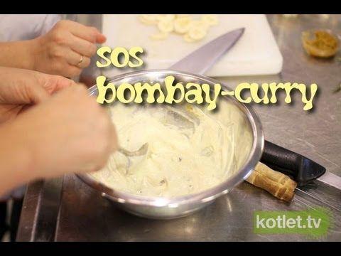 Sos bombay-curry do mies i ryb z grilla - Kotlet.TV