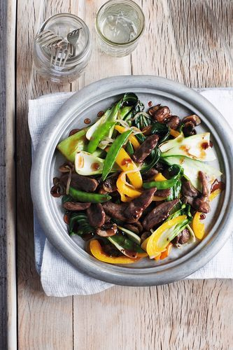 This recipe from Annabel Karmel's Busy Mum's Cookbook is an absolute delight. Give your stir-fry a sweet and sour edge with a dash of plum sauce, soy sauce and ginger. The oriental flavours go perfectly with rich, flavoursome duck breast. Serve with rice or stir-fried vegetables for a quick, delicious mid-week meal.