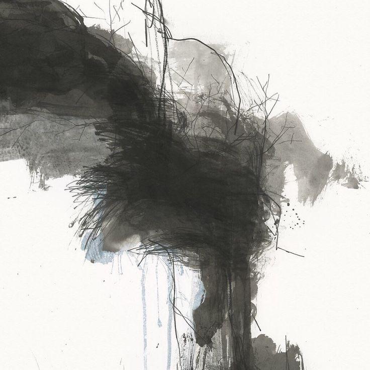 """677 Likes, 5 Comments - Ko Ushijima (@ko_ushijima) on Instagram: """"070210-3 #detail 2007 79x110cm Pencil, sumi ink, acrylic paint on paper. . small size drawing :…"""""""