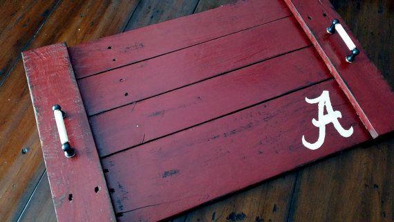 Handmade Alabama Crimson Tide Reclaimed Wooden by SeasideRelics