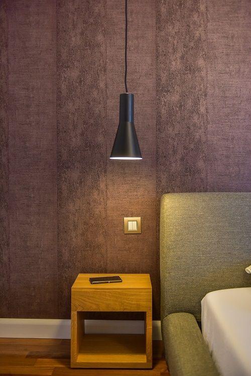 Master bedroom lighting | KiwiStudio | Design contemporan si New Scandinavian pentru apartament mare