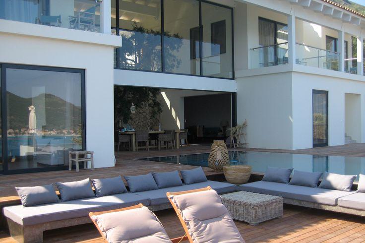 Bouw designvilla Griekenland, ontwerp doorBNLA architecten Amsterdam.
