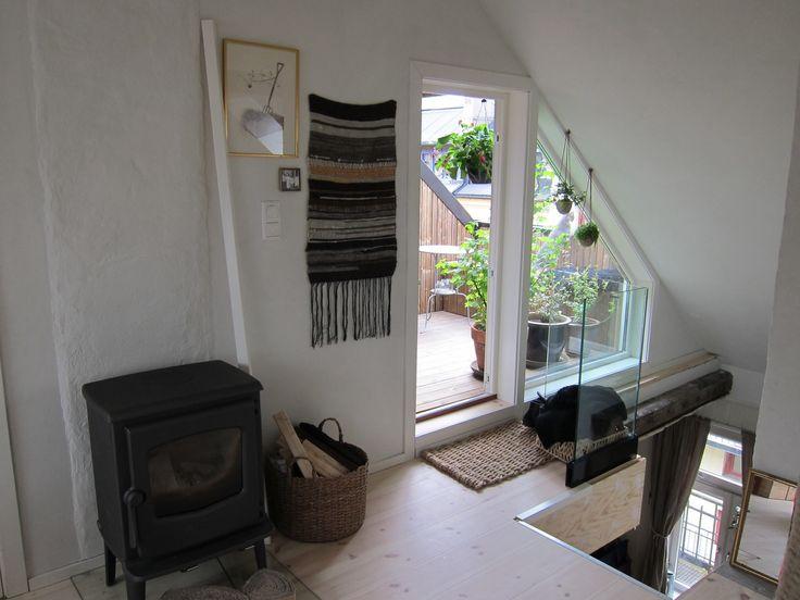 Finished attic conversion