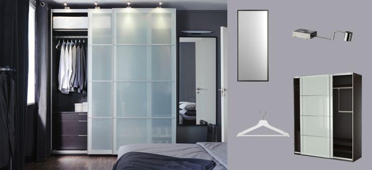 oltre 25 fantastiche idee su guardaroba pax ikea su. Black Bedroom Furniture Sets. Home Design Ideas
