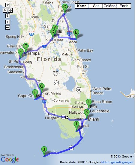 Florida - Route