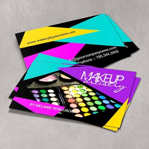 15 best business cards ideas images on pinterest makeup artist bold makeup artist business card reheart Choice Image