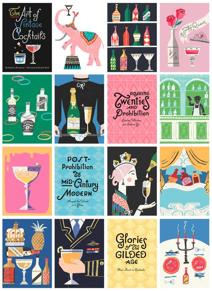 Danielle Kroll - The Art of Vintage Cocktails