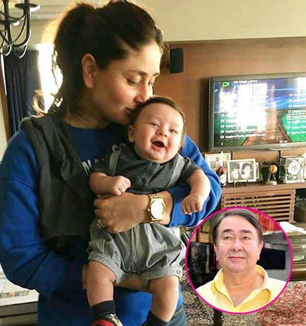 """""""Taimur is a naughty kid,"""" says grand-father Randhir Kapoor #FansnStars"""