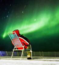 Oh please someday! Watching the northern lights from a Hurtigruten ship in Northern Norway - Photo: Stein J Bjørge/Hurtigruten