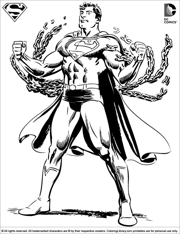 superman penguin coloring pages - photo#38