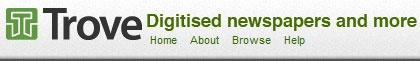 Trove - Australian Newspapers (National Libraries of Australia)
