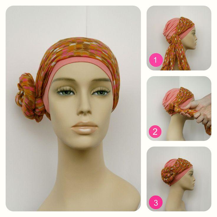 Chemo sjaal knopen: dotje