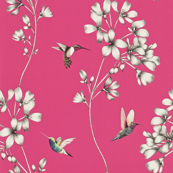 Harlequin Amazilia Wallpaper - Flamingo - 111058 ($74) ❤ liked on Polyvore featuring home, home decor, wallpaper, backgrounds, pink, harlequin wallpaper, pink diamond wallpaper, diamond wallpaper, pink flamingo wallpaper and flamingo wallpaper