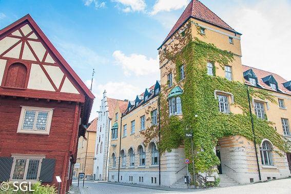 Visby Capital De Gotland Suecia Viajar A Suecia Gotland Suecia
