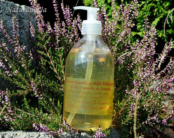 NaturalnaJa: Mydło Marsylskie w płynie Bio Lawenda - http://naturalnaja.blogspot.com/2013/11/mydo-marsylskie-w-pynie-bio-lawenda.html#