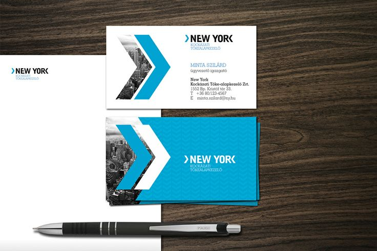 NEW YORK Kockázati Tőkealap identity design by @Dekoratio Brand Studio