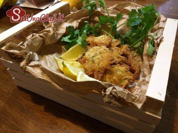 Frittelle di bianchetti Fish frittelle