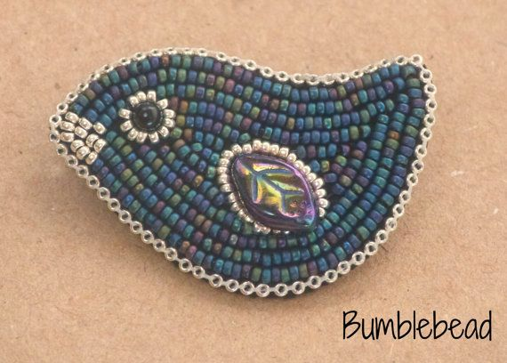 Baby deer bead embroidery kit seed beads diy