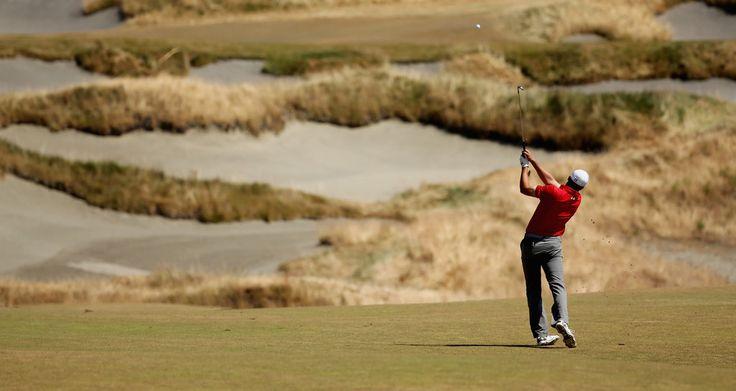 Jordan Spieth: Golfers Compete at the U.S. Open, Round Three