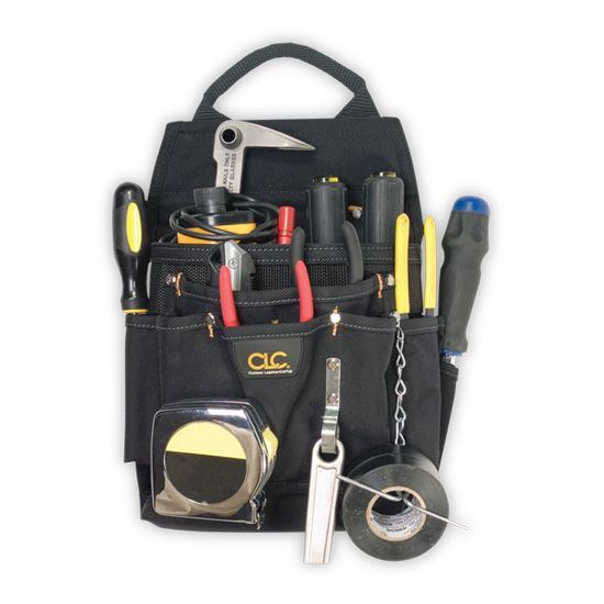 12 Pocket Professional Electrician's Tool Pouch